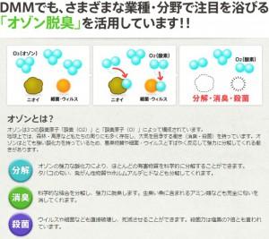 DMMオゾン脱臭機
