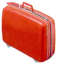 サムソナイト 初のキャスター付きスーツケース
