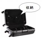スーツケースの収納の基本